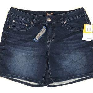 New Seven7 Knit Denim Shorts Size 12